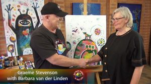 Barbara van der Linden meets Graeme Stevenson on Colour In Your Life