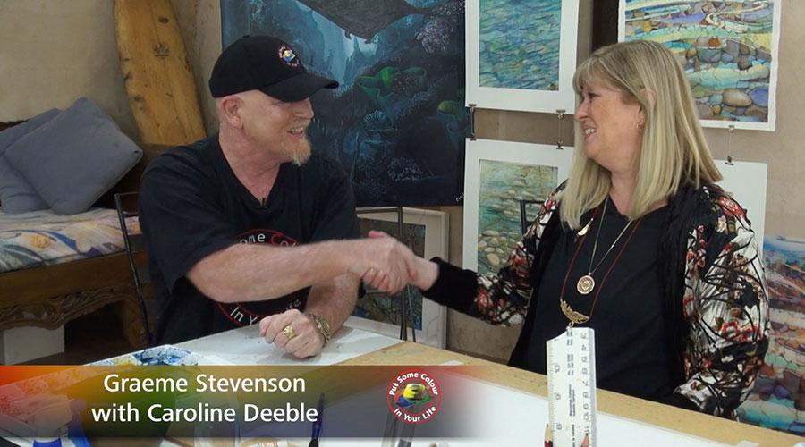Caroline Deeble meets Graeme Stevenson on Colour in Your Life