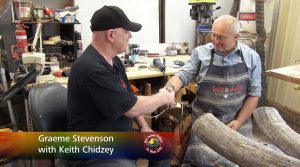 Keith Chidzey meets Graeme Stevenson on Colour In Your Life