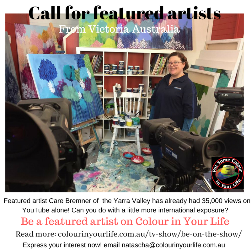 Call for featured artists Victoria
