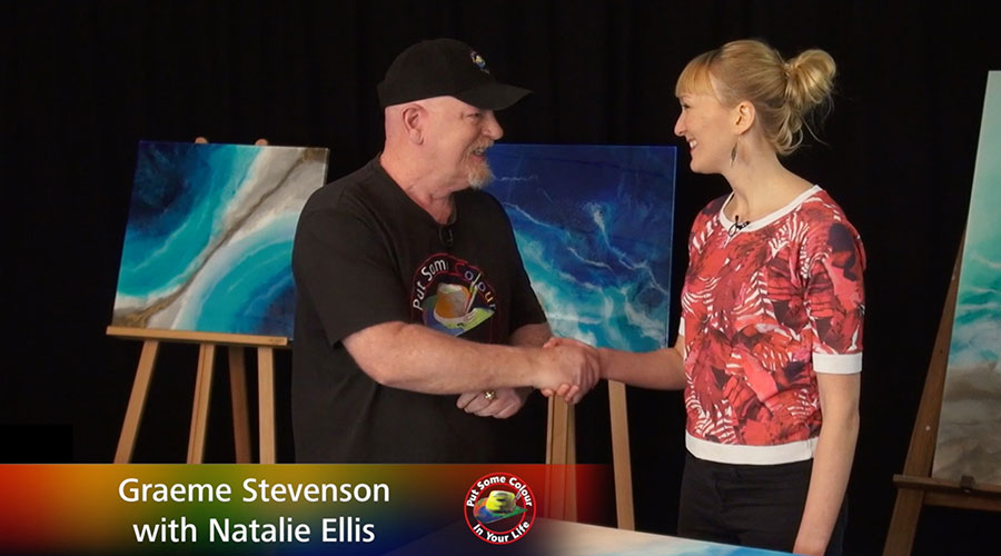 Natalie Ellis meets Graeme Stevenson on Colour In Your Life