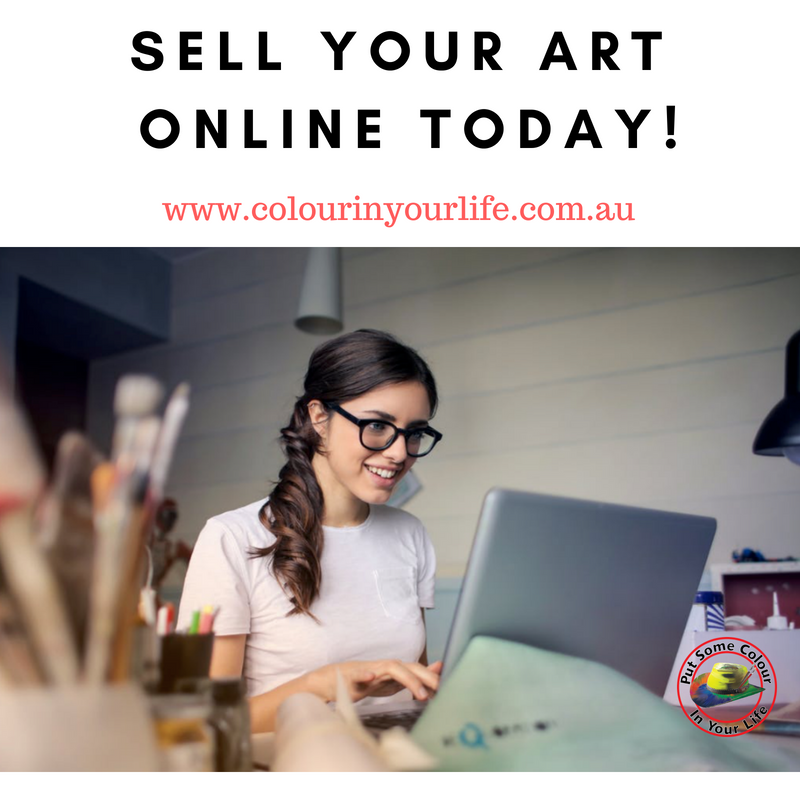 sell your art online today