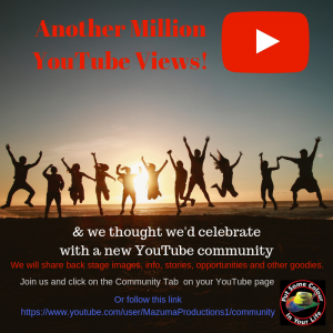 Another Million Youtube views!