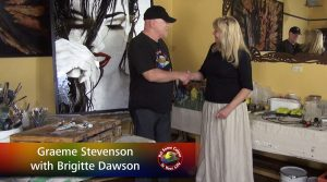 Brigitte Dawson meets Graeme Stevenson on Colour in Your Life