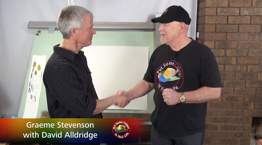 David Alldridge meets Graeme Stevenson on Colour In Your Life