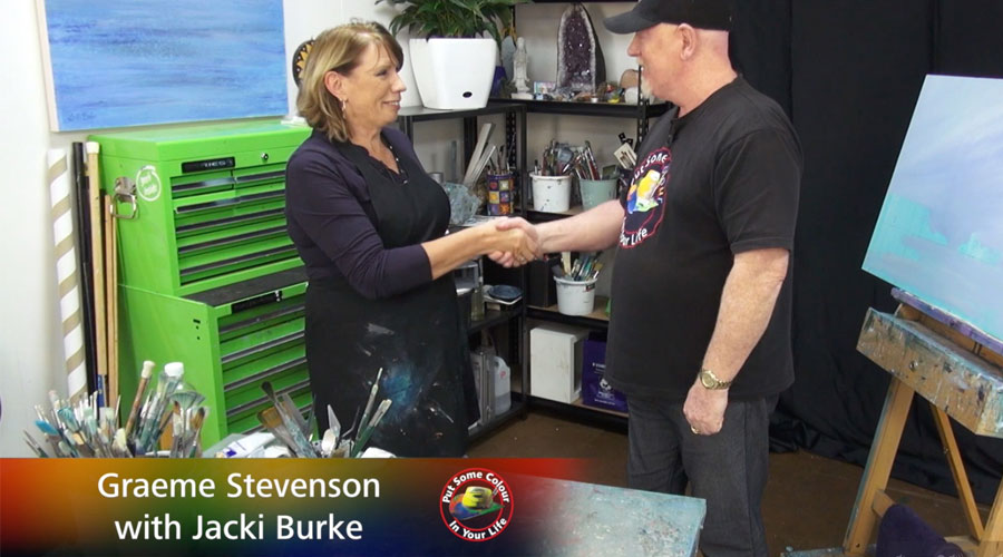 Jacki Burke meets Graeme Stevenson on Colour In Your Life