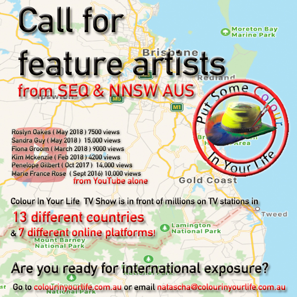 call for feature artists QLD