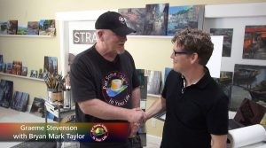 Bryan Mark Taylor meets Graeme Stevenson on Colour In Your Life