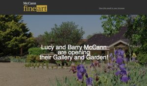 Lucy and Barry open garden