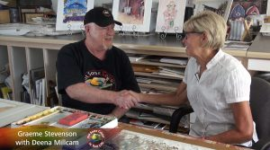 Deena Millecam meets Graeme Stevenson on Colour In Your Life