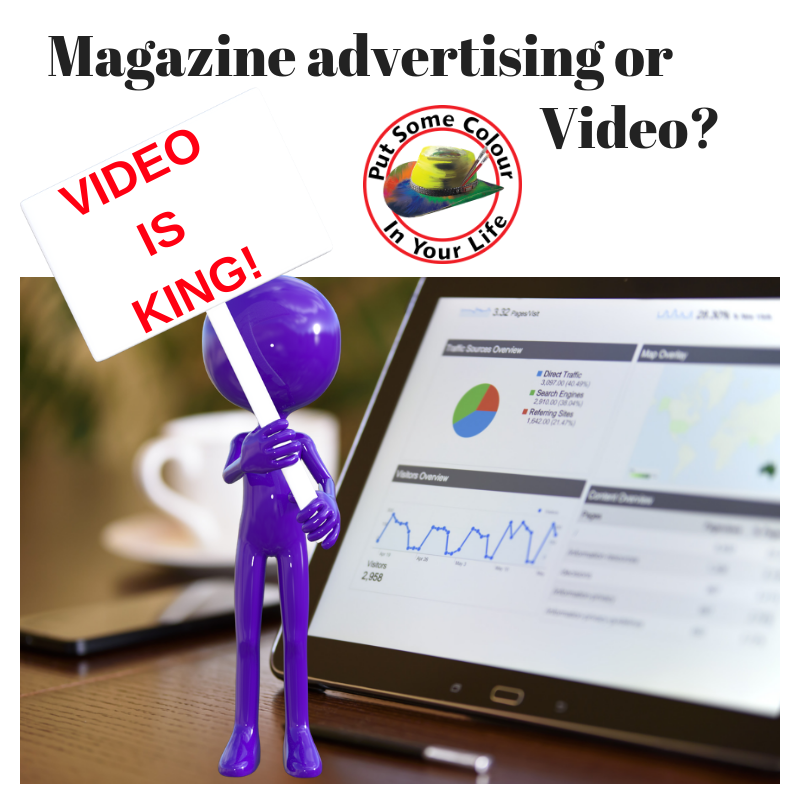 ART MARKETING TIP MAGAZINE OR VIDEO