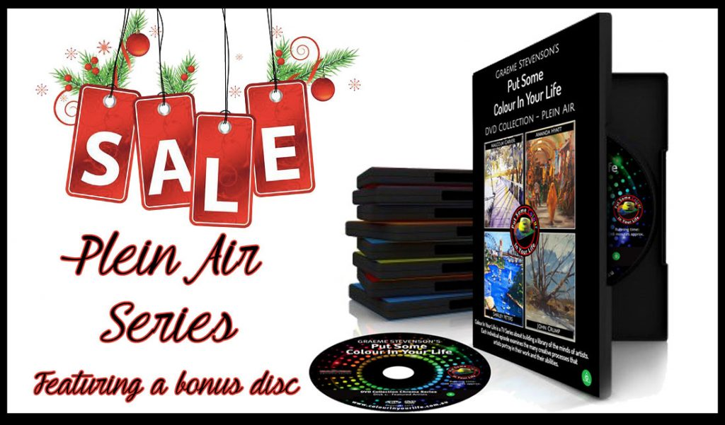 Plein Air Tutorial Series Christmas sale