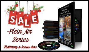 Plein Air Tutorial Series Christmas sale
