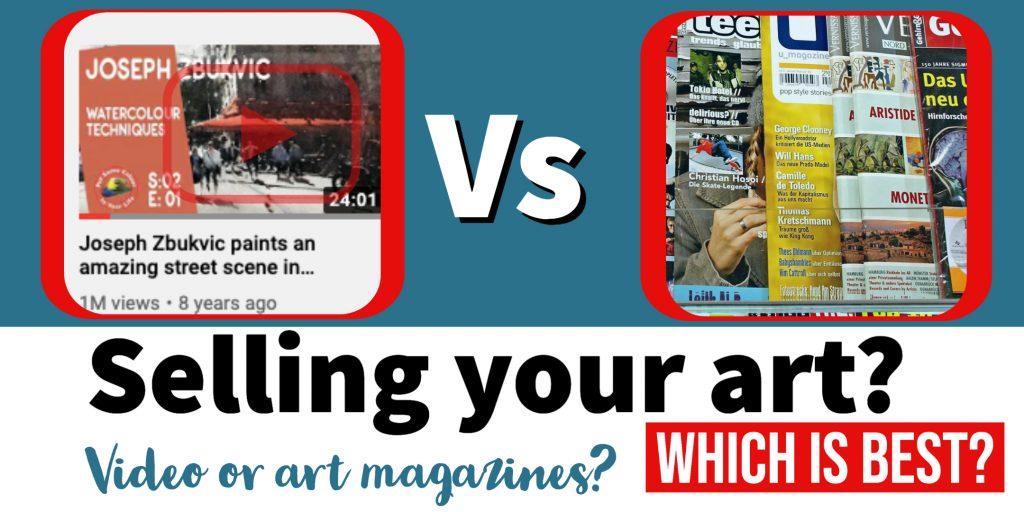 Video vs Art Magazines