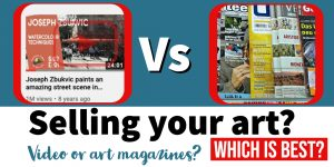 Video vs Art Magazines