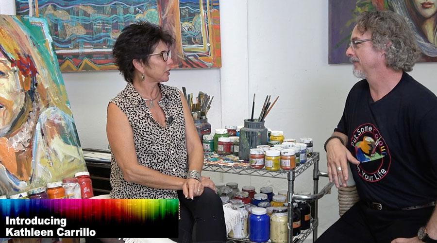 Kathleen Carrillo meets Richard Stergulz on Graeme Stevenson's Colour In Your Life