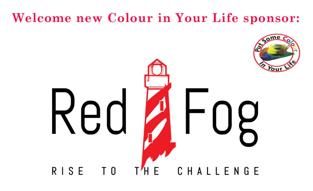 New Colour in Your Life Sponsor Red Fog