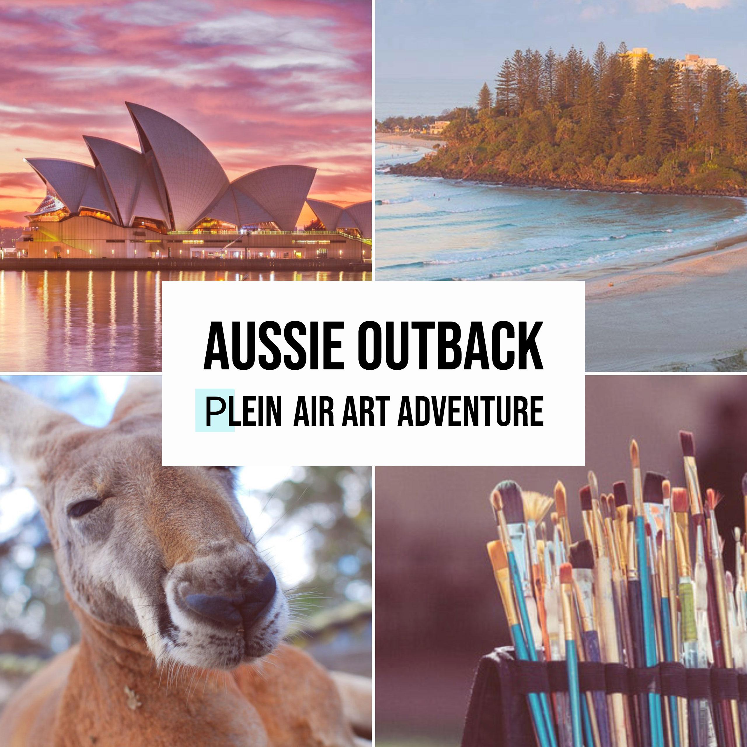 Aussie- Outback Plein-Air- Art Adventure