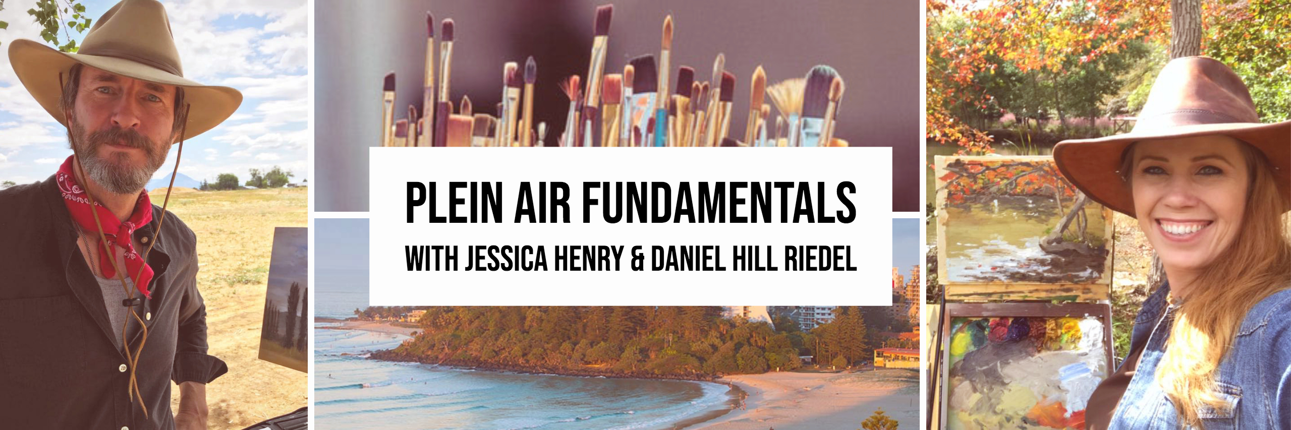 Aussie Plein Air Fundamentals Colour In Your Life Workshop