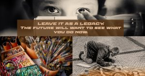 Leave it as a legacy (1) Colour in Your Life Art Marketing tip