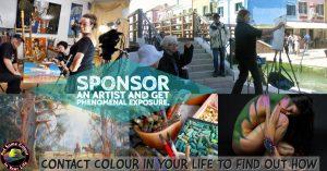 sponsor an artist