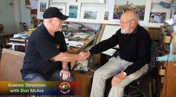 Don McAra meets Graeme Stevenson on Colour In Your Life