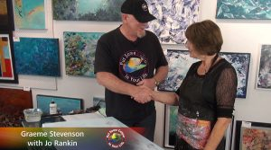 Jo Rankin meets Graeme Stevenson on Colour In Your Life