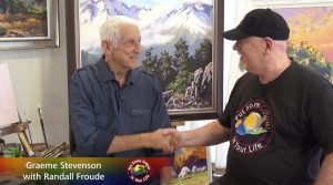 Randall Froude meets Graeme Stevenson on Colour In Your Life