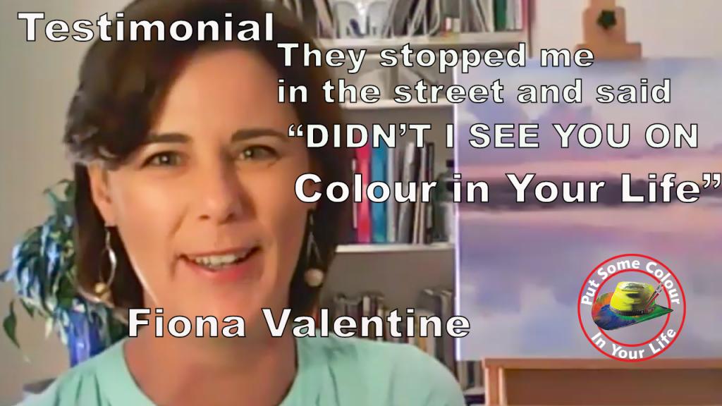 Fiona Valentine testimonial