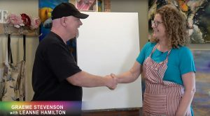 Leanne Hamilton meets Graeme Stevenson on Colour In Your Life