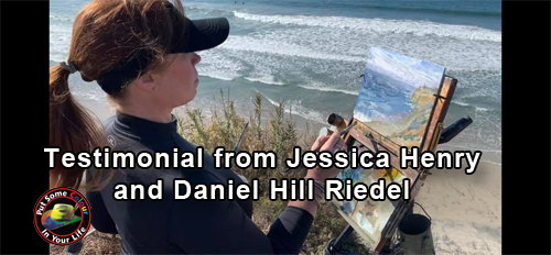 Testimonial from Jessica Henry & Daniel Hill Riedel | Colour In Your Life
