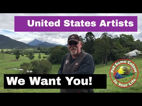 US artists we want you