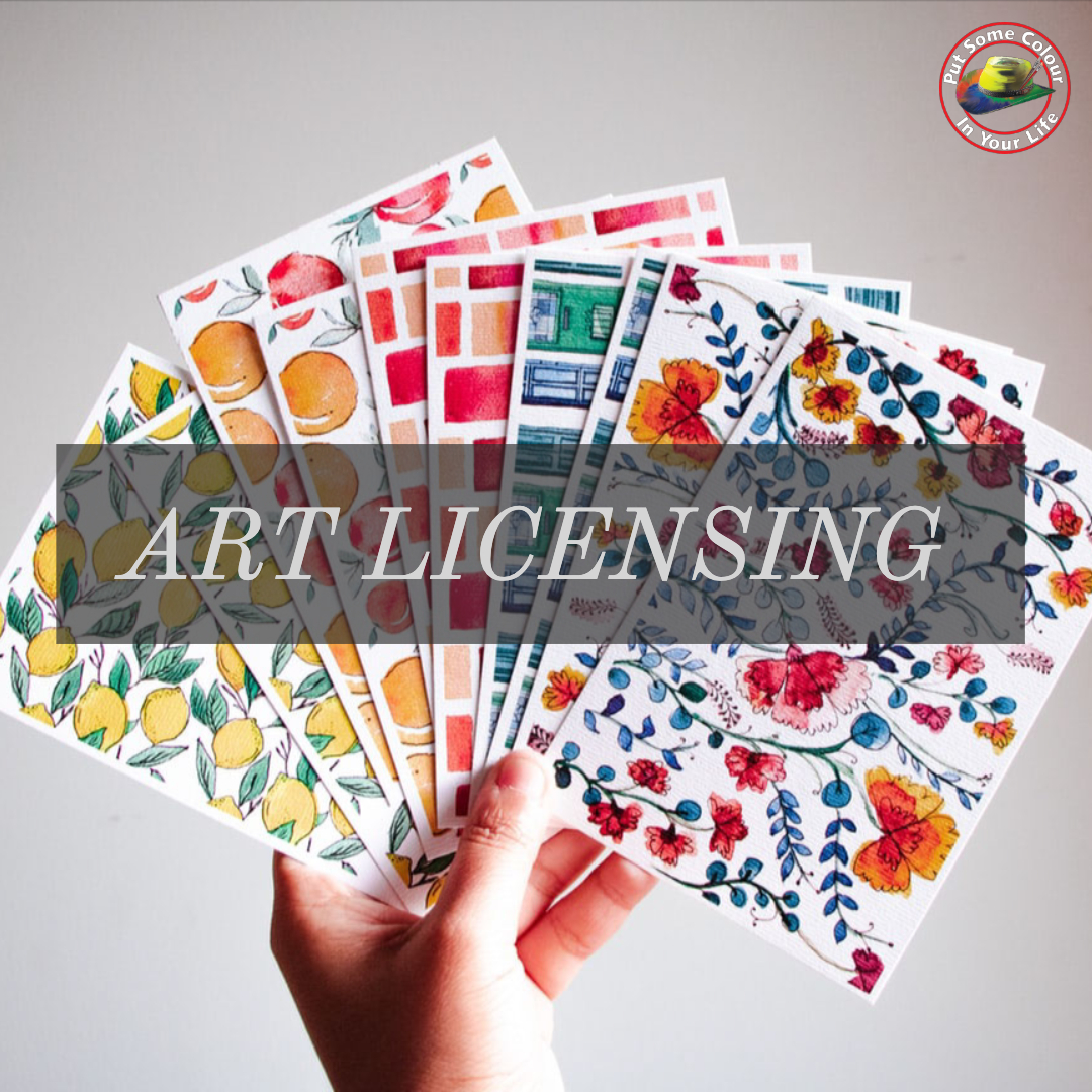 colour in your life Art Licensing