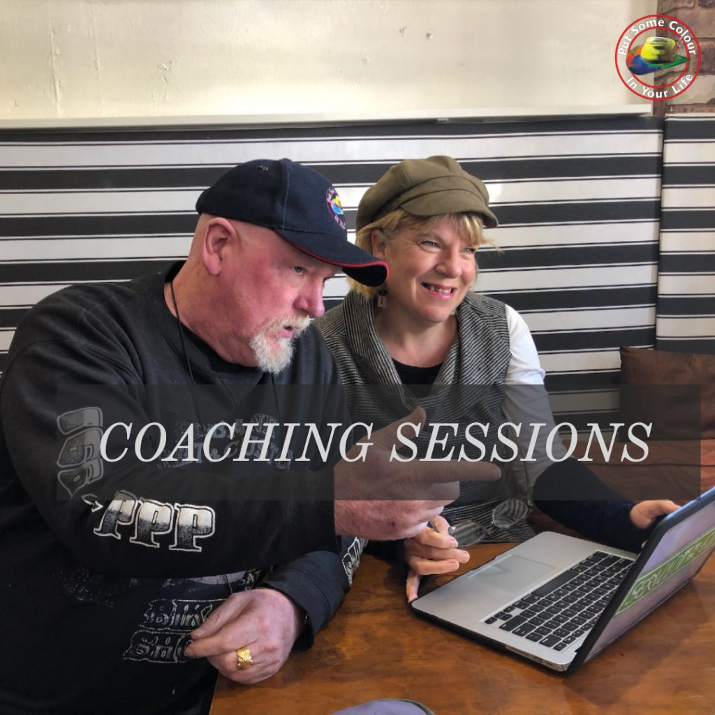 Coaching Sessions colour in your life