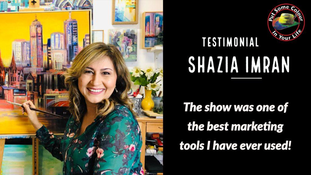 Shazia Imran Colour in Your Life testimonial