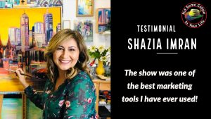 Shazia Imran Colour in Your Life testimonial