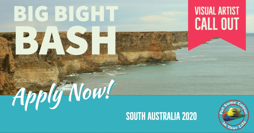 Colour in Your Life South Australia Visual Artist call out