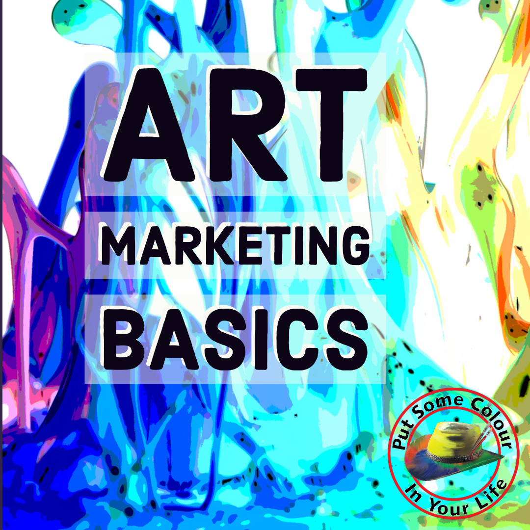 Colour in Your Lfe art marketing basics