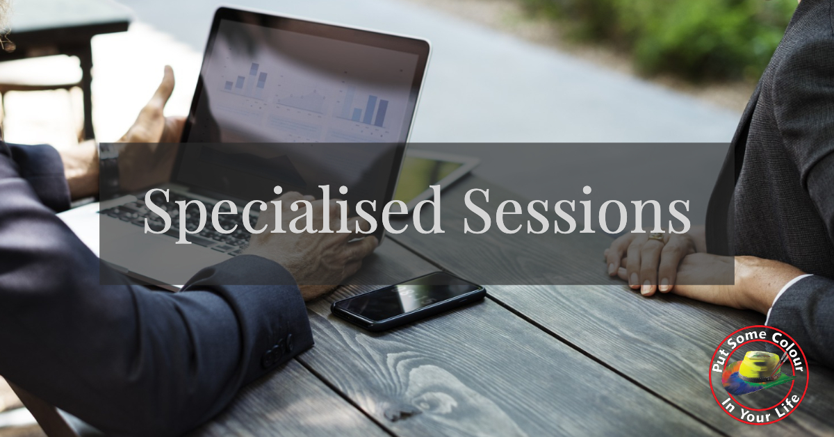 specialised sessions