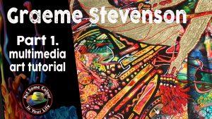 Graeme Stevenson's Multimedia demonstration Part 1 Stallions of the Heavens