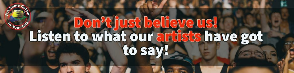 We have dozens of testimonials from artists whose businesses have prospered from using their Colour in Your Life documentary in their marketing.