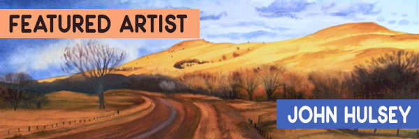 John Hulsey's painting A Prairie Storm