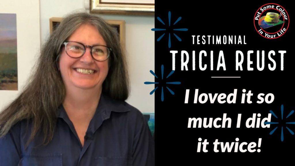 Tricia Reust Testimonial Thumbnail