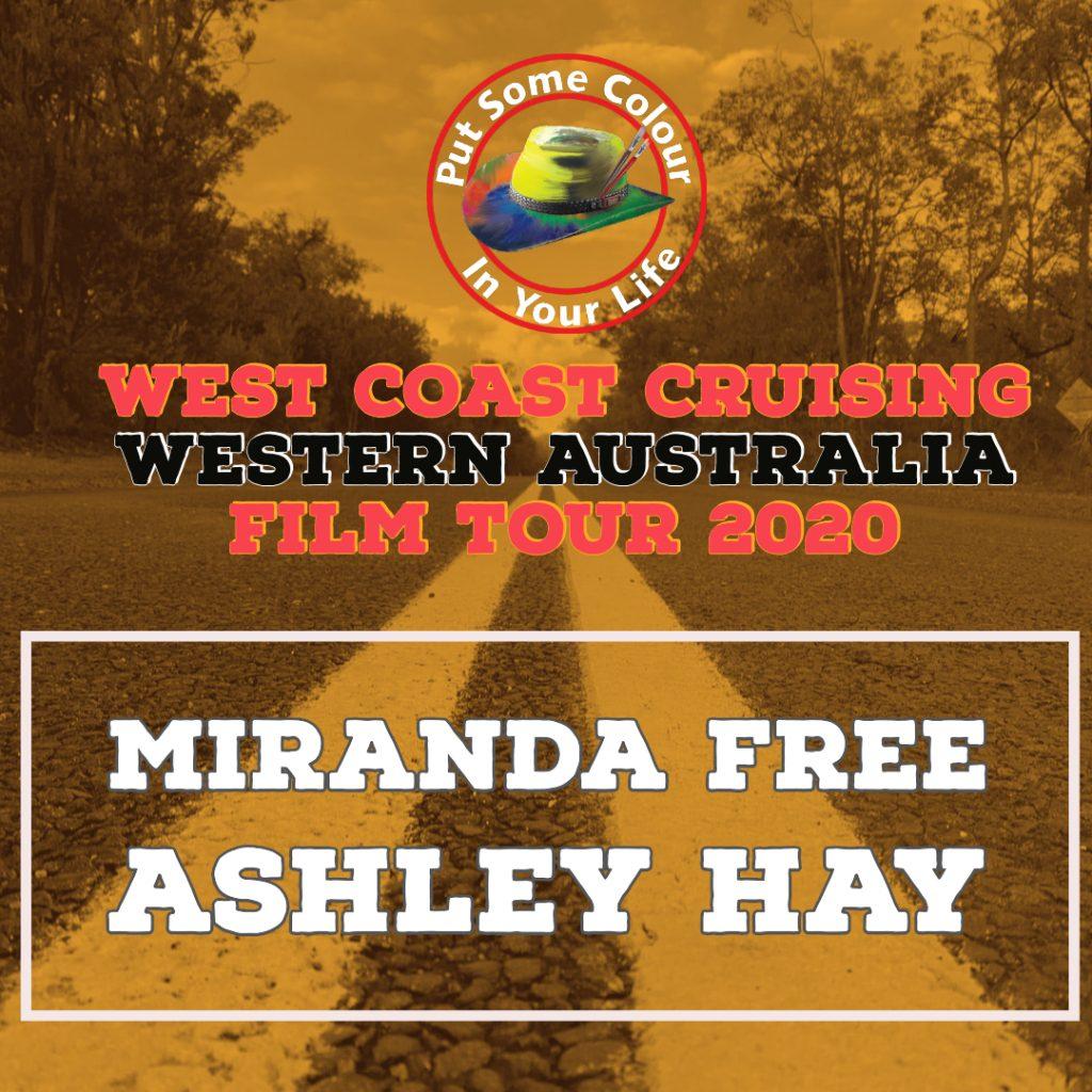 Announmcent West coast cruising film tour Rectangle