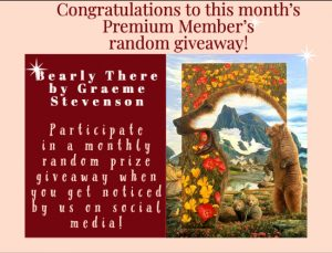 Congratulations to this month's Premium Member's random giveaway!