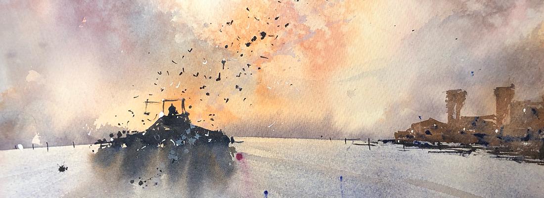 Tony White watercolour