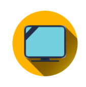 TV logo for watch now page