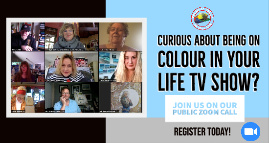 Colour in your Life Public zoom call zoom Aug 8