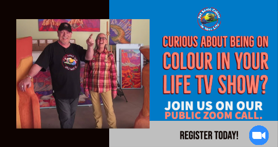 Colour in your Life Public zoom call