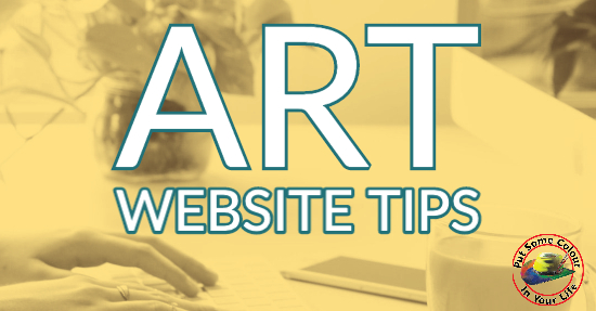 art website tips